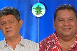 Taaroanui Maraea et François Pihaatae