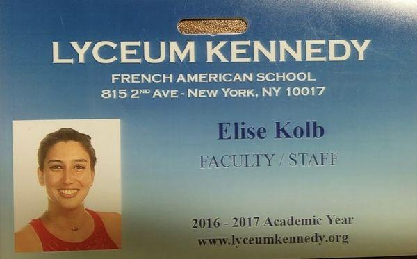 La Calédonienne est professeure de français et de latin à New York