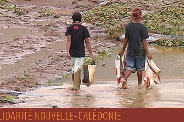 Campagne de dons pour les sinistrés de Houaïlou