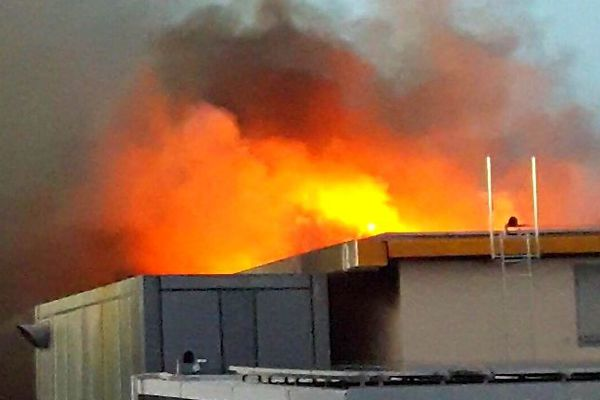Incendie menuiserie Sababady 28 février 2019