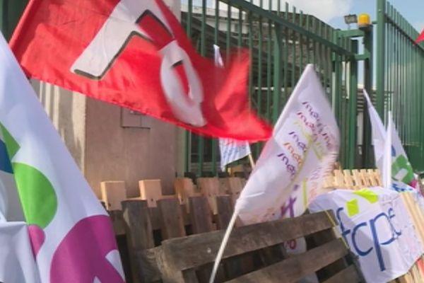 Grève au Collège Edouard Glissant