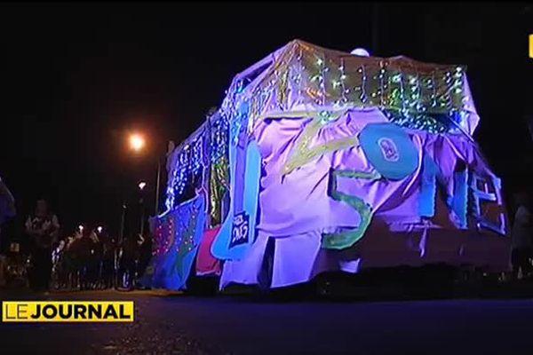 Carnaval à Pirae pour célébrer Noël