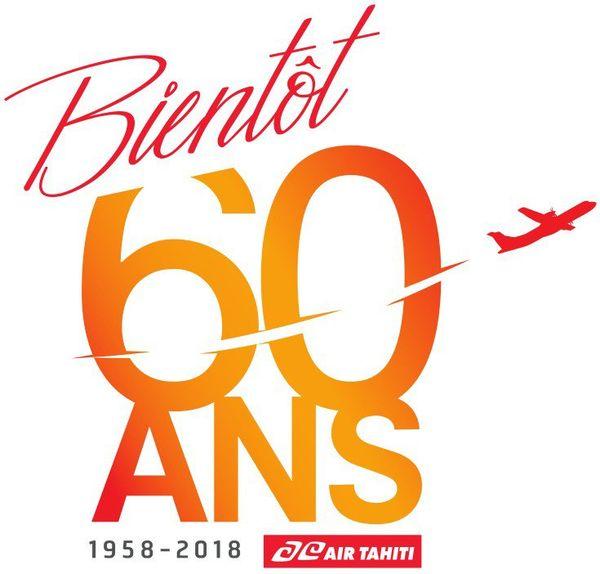 Air Tahiti fête ses 60 ans