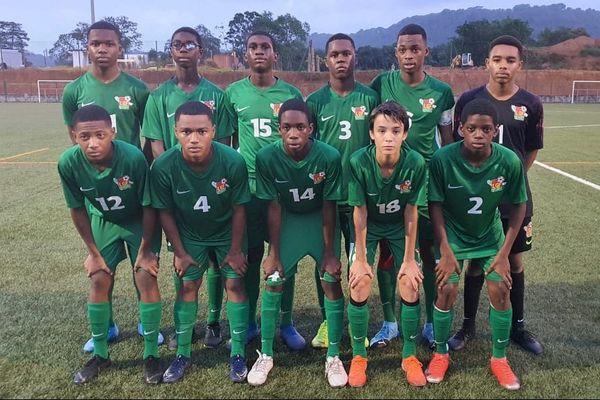Sélection U15 de la Guadeloupe 27 12 2019