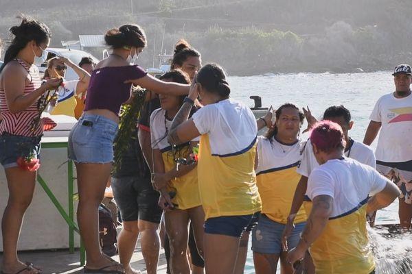 Vakaiki à Ua Pou : les sportifs arrivent de toute la Polynésie