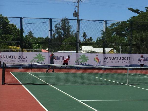 Mini Jeux du Pacifique Tennis