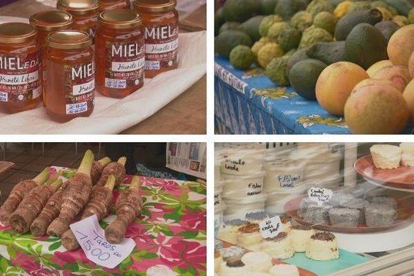La fête des produits agricoles au jeudi du centre ville