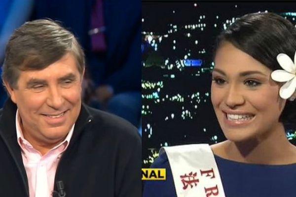 Duo de charme pour animer la soirée de Miss Tahiti 2017