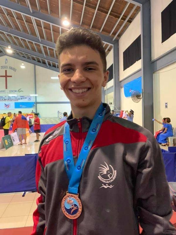 Oceania de taekwondo, bronze de Dorian Mejri