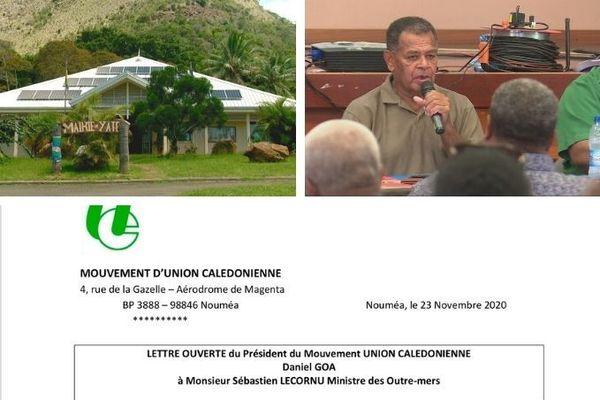 Blocage de la mairie de yat éet lettr eouverte de Goa du 23 novembre 2020