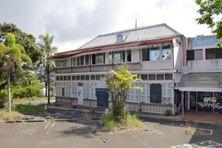 Le bâtiment historique qui était au cœur de l'ancienne clinique Magnin, le 28 octobre 2021.