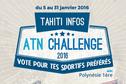JEU ATN CHALLENGE 2016 - Votez pour votre sportif préféré !