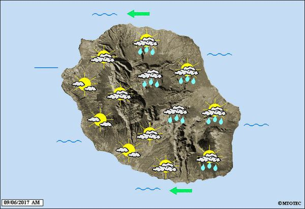 Carte météo 6 juin 2017