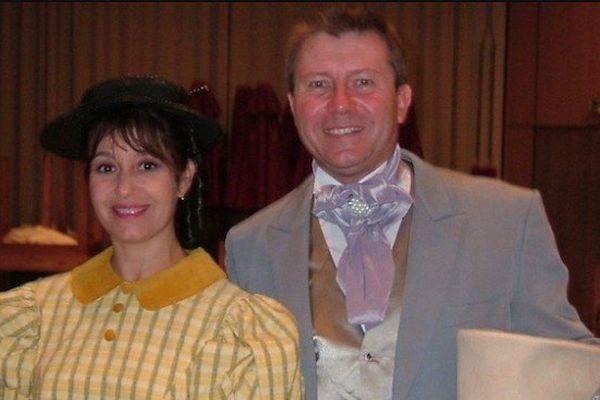 Isa Fleur et Philippe Béranger lors de leur venue en Polynésie en 2008