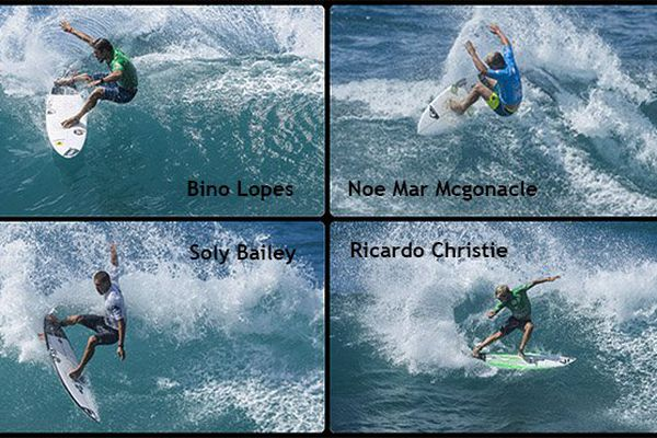 Martinique surf pro : photo finale