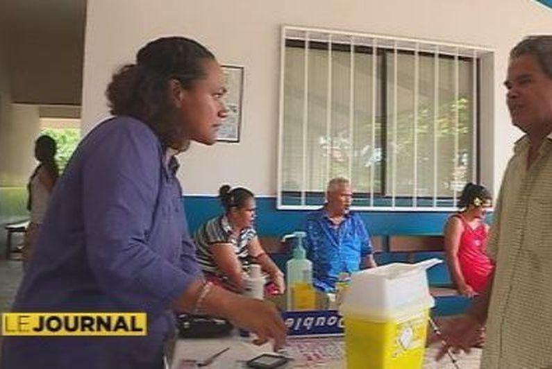 Diabète : sensibilisation dans les dispensaires de Wallis et Futuna
