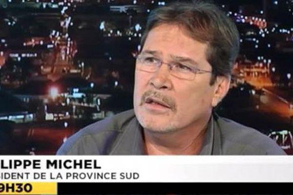 Philippe Michel, le président de la Province Sud, invité politique du dimanche