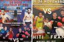 Boxe : deux soirées de rencontres internationales
