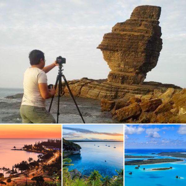 Désormais photographe professionnel, Daniel met la Nouvelle-Calédonie à l'honneur