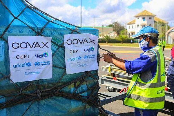 Livraison Covax à Madagascar vaccin covid de l'OMS 8 mai 2021