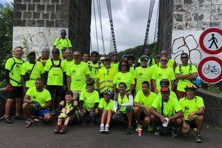 Tour de l'île à Vélo des Maillons de l'espoir 5ème édition Sainte-Rose 120119