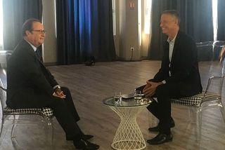 En visite durant deux jours à La Réunion, l'ancien président de la République a accordé à un entretien à Jean-Marc Collienne sur Réunion La 1ère.