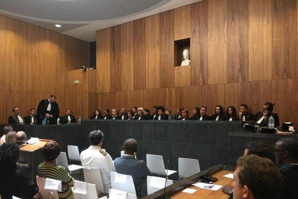 Rentrée solennelle Tribunal judiciaire
