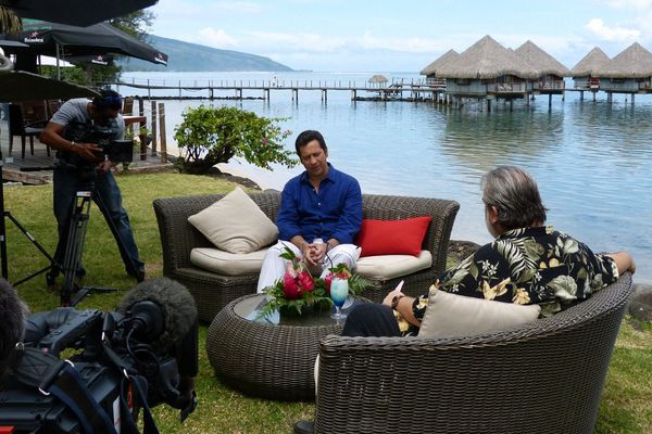 Laurent Gerra à Tahiti