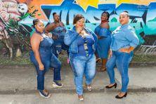Astrid, Alice, Laurencia, Béatrice etMarjorie sont les cinq candidates au concours Miss Ronde Martinique 2020.