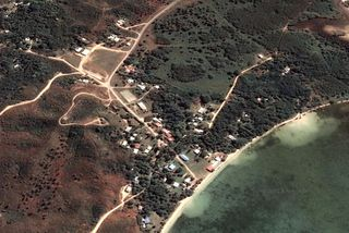 Vue satellite de la tribu de Tiabet