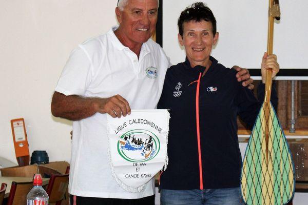 Richard Drouet ligue calédonienne de va'a et canoë kayak