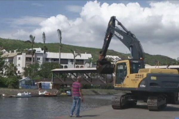 La Réunion : plage des Roches Noires