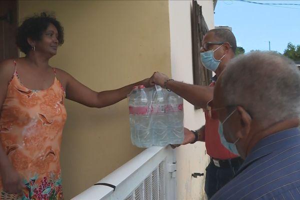 Distribution d'eau à Saint-Claude