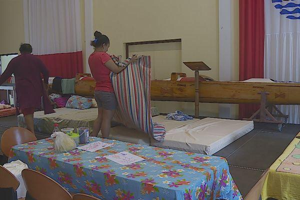 Intempéries : une famille de Tenaho en attente d'être relogée