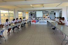 Le Collectif des Socio-professionnels de la Guadeloupe en uniforme