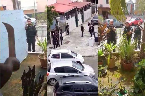 Confrontation Riverain contre gendarmes