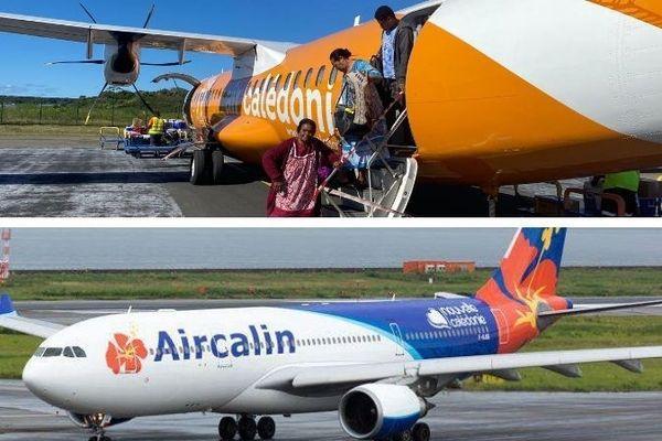 Aircal et Aircalin