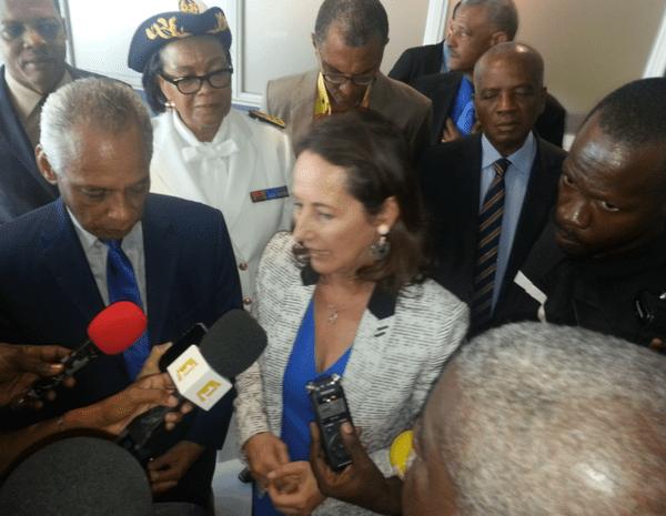 Ségolène Royal en Guadeloupe 2