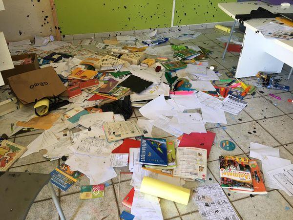 Vandalisme collège Poum 2