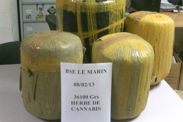Saisie Cannabis