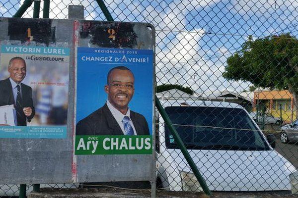 Panneau électoral Lurel-Chalus