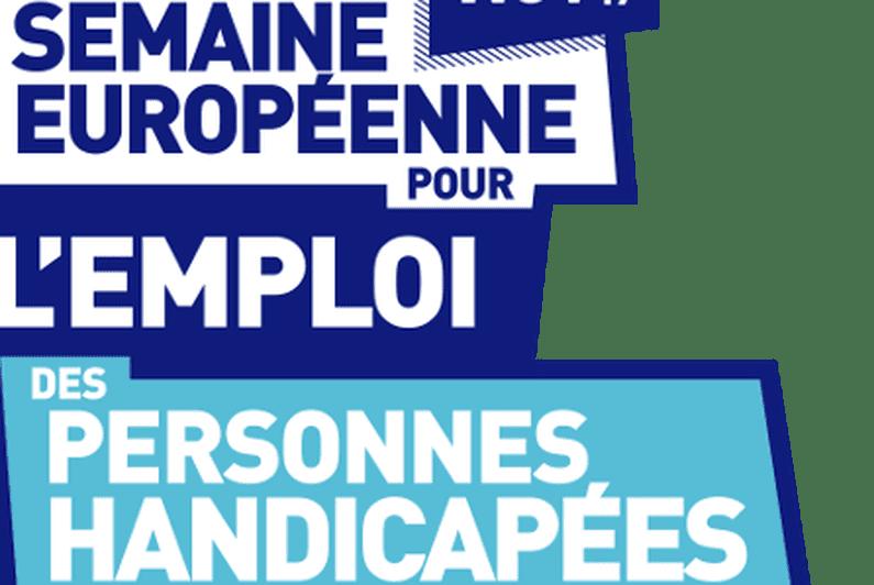 Coup d'envoi ce lundi 18 novembre de la 23eme édition de la Semaine Européenne pour l'Emploi des Personnes Handicapées