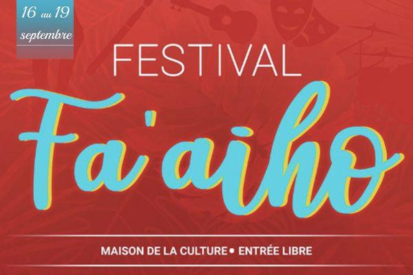 Le Festival Fa'aiho aura lieu du 16 au 19 septembre
