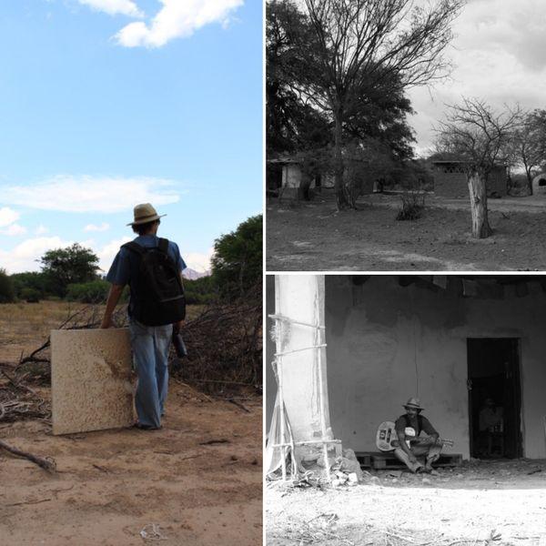 Le Calédonien a vécu trois ans en Amérique du sud. Ici, son ancien terrain en Argentine.