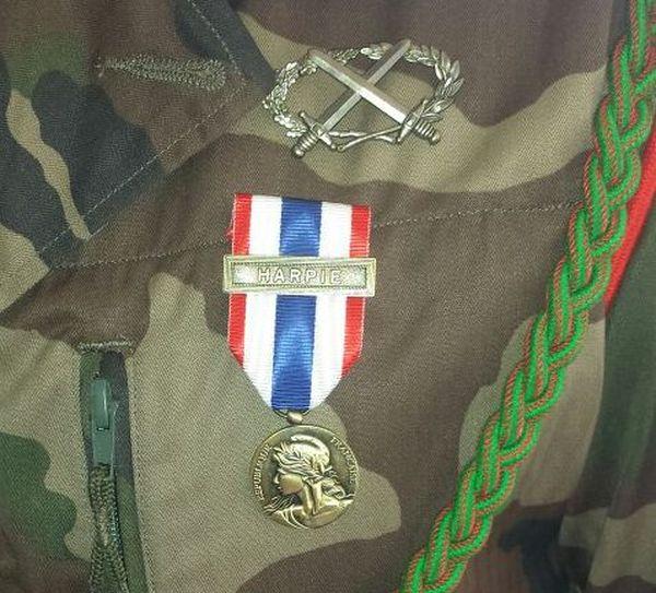 La médaille de la protection militaire du territoire