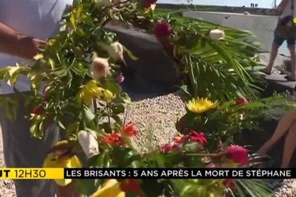 Hommage Stéphane Berhamel requin brisants