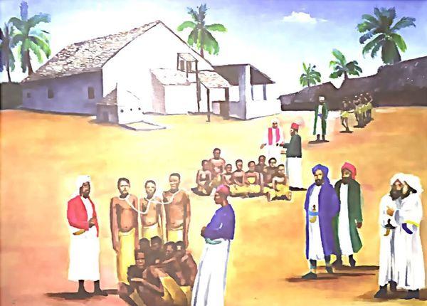 Scène d'esclavage