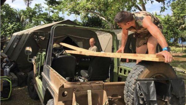 L'opération «Castor» 2018, sur la petite île vanutaise de Vao.