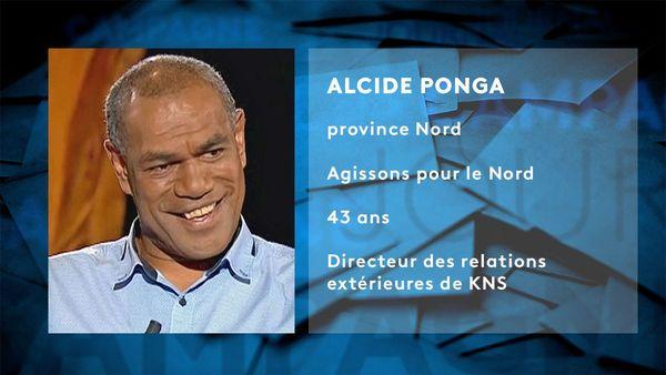 Provinciales 2019, fiche d'identité Alcide Ponga