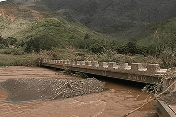 Le pont juste après Freda, 2013